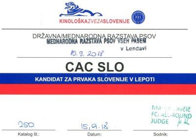 CACIB Lendava