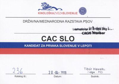 CACIB Maribor